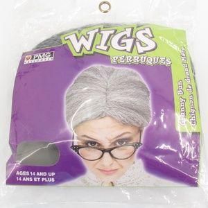 PMG Granny Bun Adult Wig